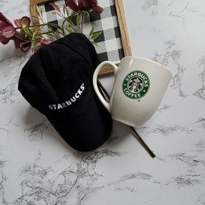Black Starbuck's Baseball Hat